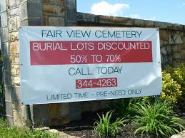 cemetery plots for sale selling cemetery plots in a declining burial marketplace