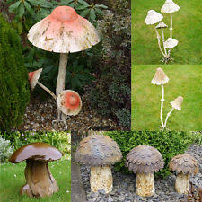 wooden garden mushrooms ebay