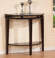 half round dining table decorating moon dining table semi circle console small round console