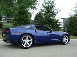 2007 corvettes for sale rick corvette conti archive lemans blue corvette for sale
