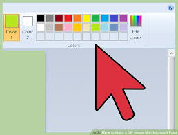 how to make a gif image with microsoft paint 14 steps
