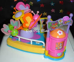 2002 polly pocket pollyworld butterfly ride