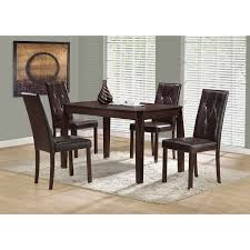 dining room furniture indianapolis contemporary rectangular dining table cappuccino dining tables