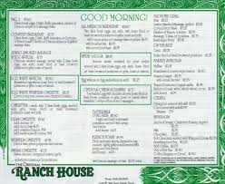 the ranch house restaurant co menu urbanspoon zomato