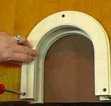 Interior Pet Door For Cats Cat Door Installation