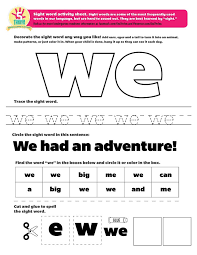 57 best sight word printables and more images on pinterest