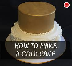step by step tutorial with pictures how to make a gold fondant