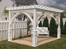 wood u0026 vinyl pergolas green acres outdoor living marietta ga