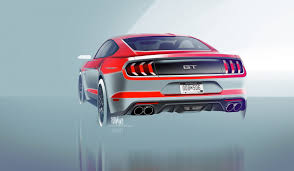 2018 ford mustang v8 gt energy in the design in north america
