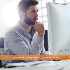 20 hour mortgage loan originator safe comprehensive live course