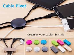 How To Organize Cables On Desk by Cable Pivot By Meenova Organize Your Cables In Style