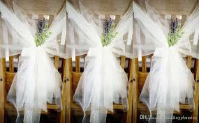 chair sashes for weddings hot fashion tulle table cloth chair sashes popular wedding chair