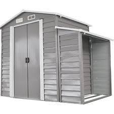 outdoor storage shed house metal tool garden utility backyard