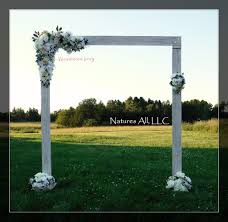 wedding backdrop arch wedding arch wedding arbor rustic wedding arch complete kit