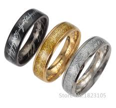 the one ring wedding band modern lord of the rings wedding band with eme 28941 johnprice co