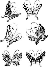 blue 3d butterfly tattoo design butterfly tattoo designs tattoo