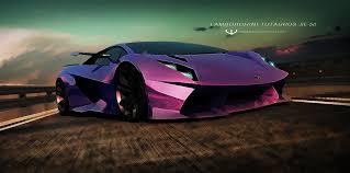Lamborghini Veneno Purple - lamborghini se 50 by wizzoo7 on deviantart