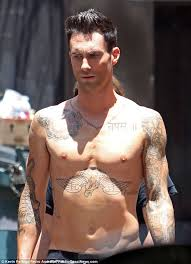 adam levine crowned s sexiest alive daily mail