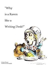Raven And The Writing Desk 1820 Best Alice Images On Pinterest Alice In Wonderland