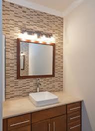 Bathroom Backsplash Tile Arrow Keys To View More Bathrooms Swipe Photo To View More