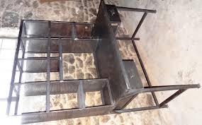 bureau tri postal marquise en fer forgé pied de table en fer forgé pergola en fer