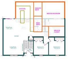 split entry floor plans split level house plans three bedroom split level hwbdo67425