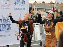 point turkey trot time is nigh point times