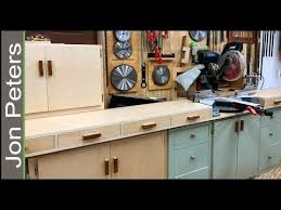 where can i borrow a table saw build a miter saw station with storage cabinets youtube