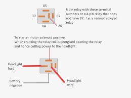 pin relay wiring diagram wiring diagram byblank