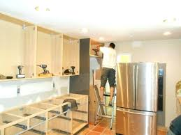 installing kitchen island installing your own kitchen thelodge club