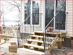 Outdoor Metal Handrails Cost Of Wrought Iron Railings Free Stylish Wrought Iron Stair