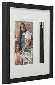 graduation tassel frame 5 x 7 graduation photo and tassel frame wall mounting