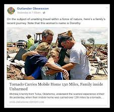 Oklahoma travel noire images Tornado carrying mobile home 130 miles from oklahoma to kansas jpg