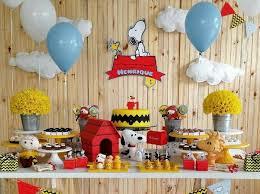 Snoopy Nursery Decor Snoopy Baby Shower Decorations Ideas Decolover Net