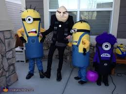 Gru Halloween Costume Gru Crew Despicable 2 Family Costume Photo 2 8