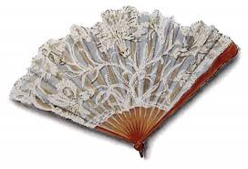 lace fan vintage clip of a lace fan vintage fangirl