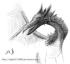 dragon pencil sketch by digital13388 on deviantart