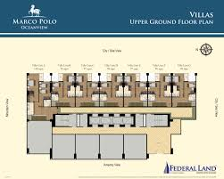Oceanview House Plans by Marco Polo Residences Oceanview Floor Plans Federal Land