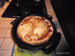 poele electrique cuisine pizza texane dans mon nouveau joujou recettes voyageuses de barbara
