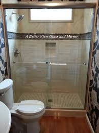 38 Shower Door Custom Framed Frameless Glass Shower Doors