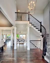 plan collection new home interior design photos 2 story entry way new home