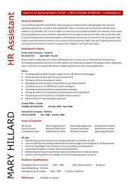 hr resume example hr resume example sample human resources