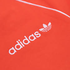 adidas originals os cali t shirt bright orange