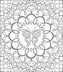 free coloring pages simply simple color pages free