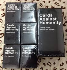 cards against humanity expansion pack cards against humanity complete bundle set base set plus 1 6