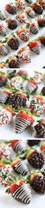 chocolate covered strawberries and caramel apples christmas