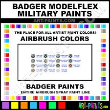 badger modelflex military airbrush spray paint colors badger