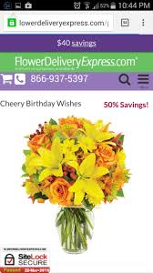 flower delivery express reviews flower delivery express arrangement review from clearwater