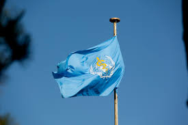 flag of the world health organization file world health organization flag jpg wikimedia commons