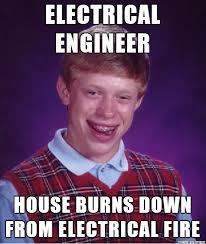 Electrical Engineer Memes - meet my co worker it started from behind my tv meme guy